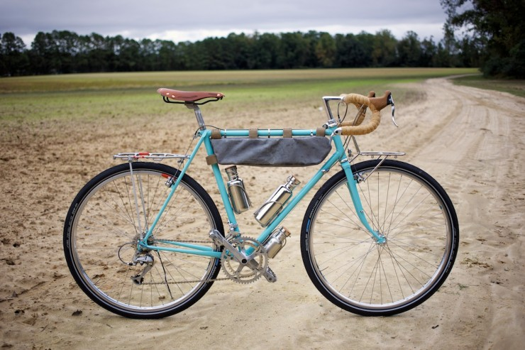 I love what pedaling nowhere did with this bike.  Beautiful! http://www.pedalingnowhere.com/gear/renovating-a-vintage-touring-bike/#.U774y1YkfXY