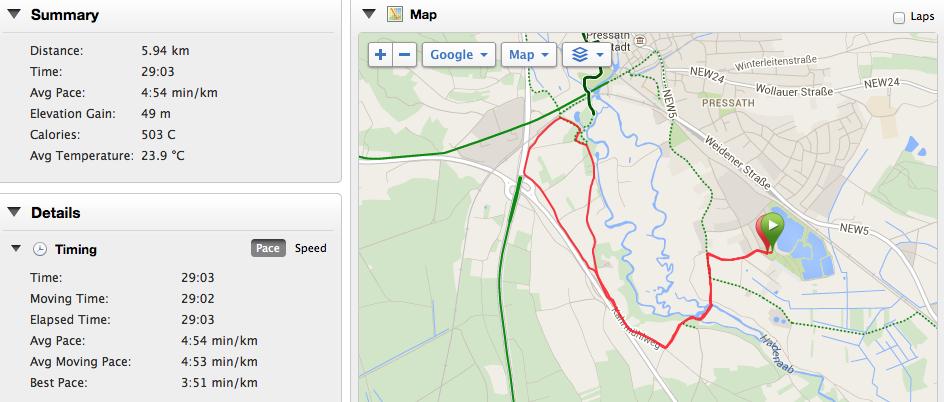 Run map and summary data as per fenix 2.
