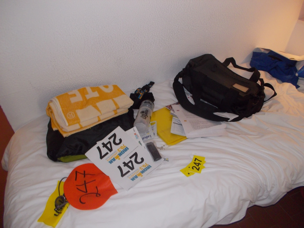 Goodie bag for Lanzarote 70.3